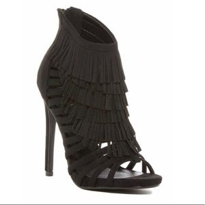 Anna Fringe Sandals- Worn once (like brand new)